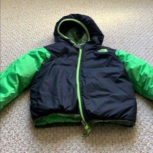 Boys North Face 550 jacket